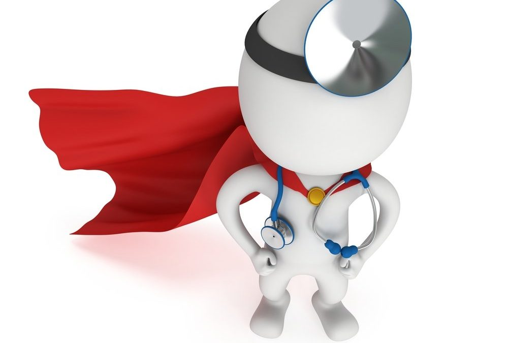 Nurses are the superheroes of health care
